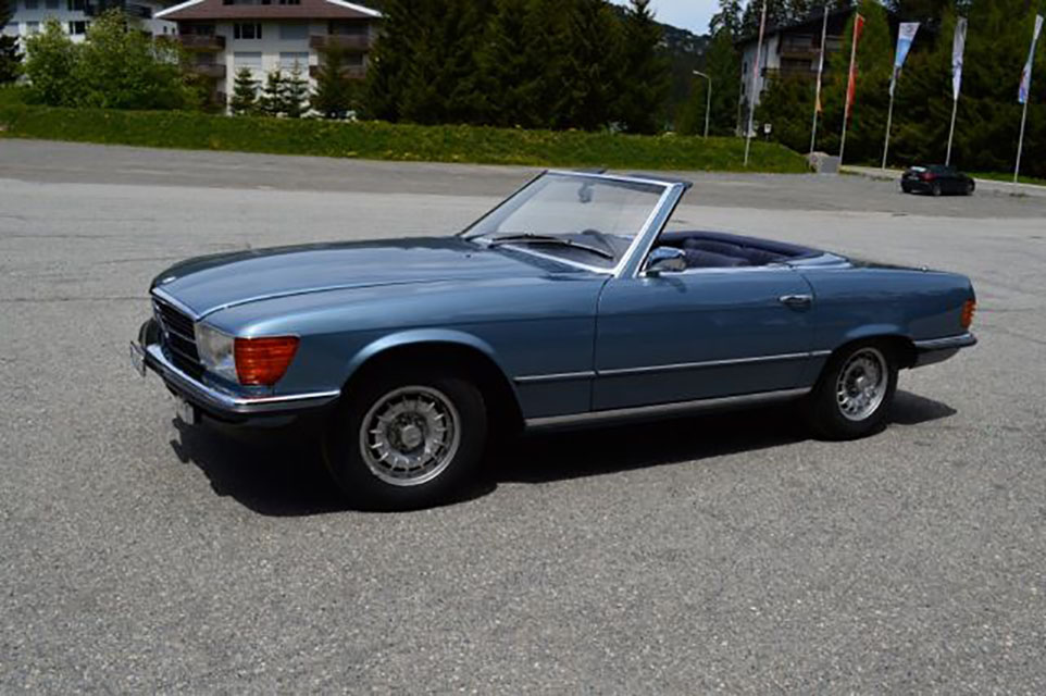 Mercedes Benz 350 SL W 107